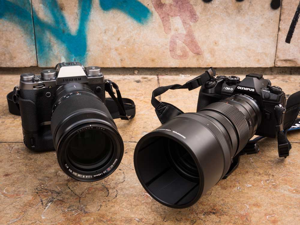 Olympus E-M1 Mark II y Fujifilm X-T2, comparativa de enfoque | PHOTOLARI