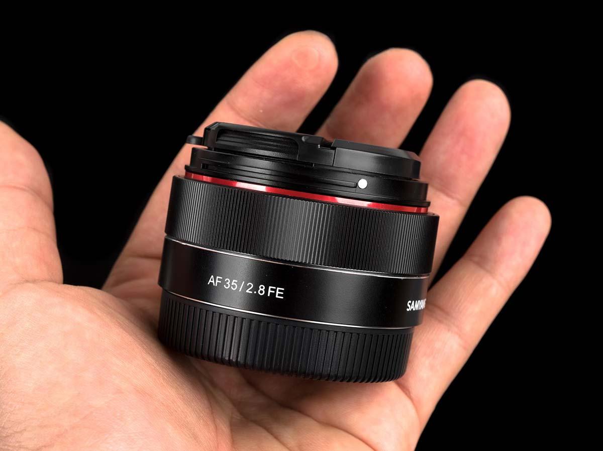 Samyang 35 mm f2.8 FE AF, una óptica pequeña y económica para Sony ...