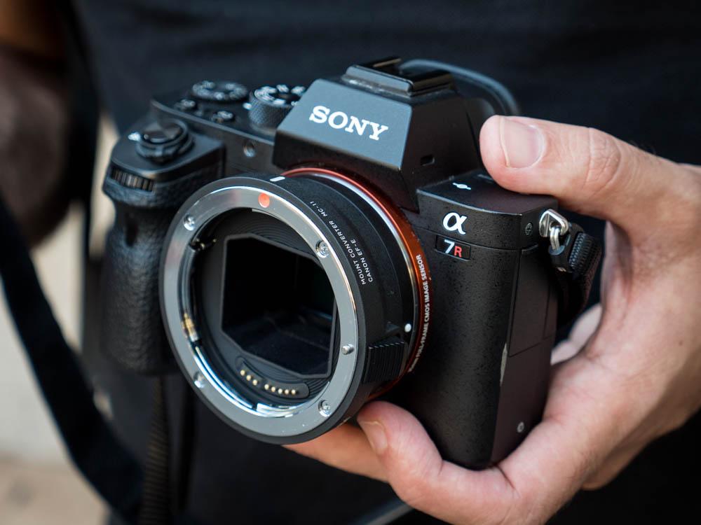 Objetivos Sigma con cámaras Sony FE? Así funciona el adaptador MC-11 ...