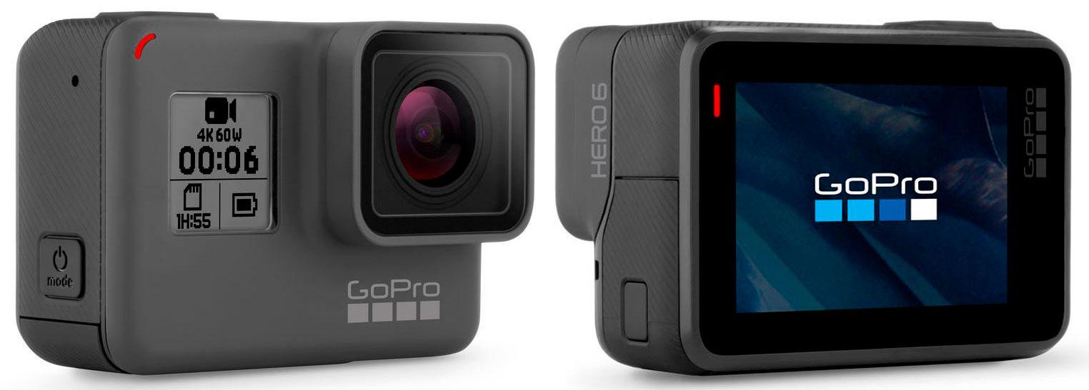GoPro lanza la HERO6 y la esperada Fusion, su cámara de 360 grados ...