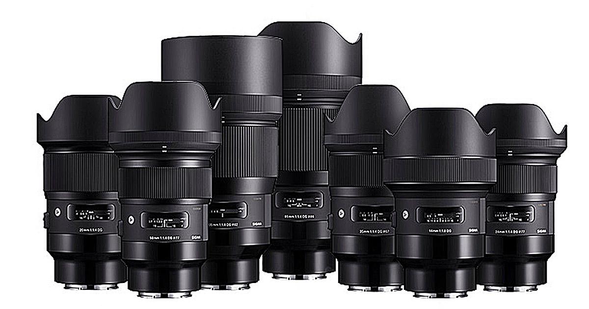 Sigma se apunta a la montura FE de Sony con 9 objetivos de la serie ...