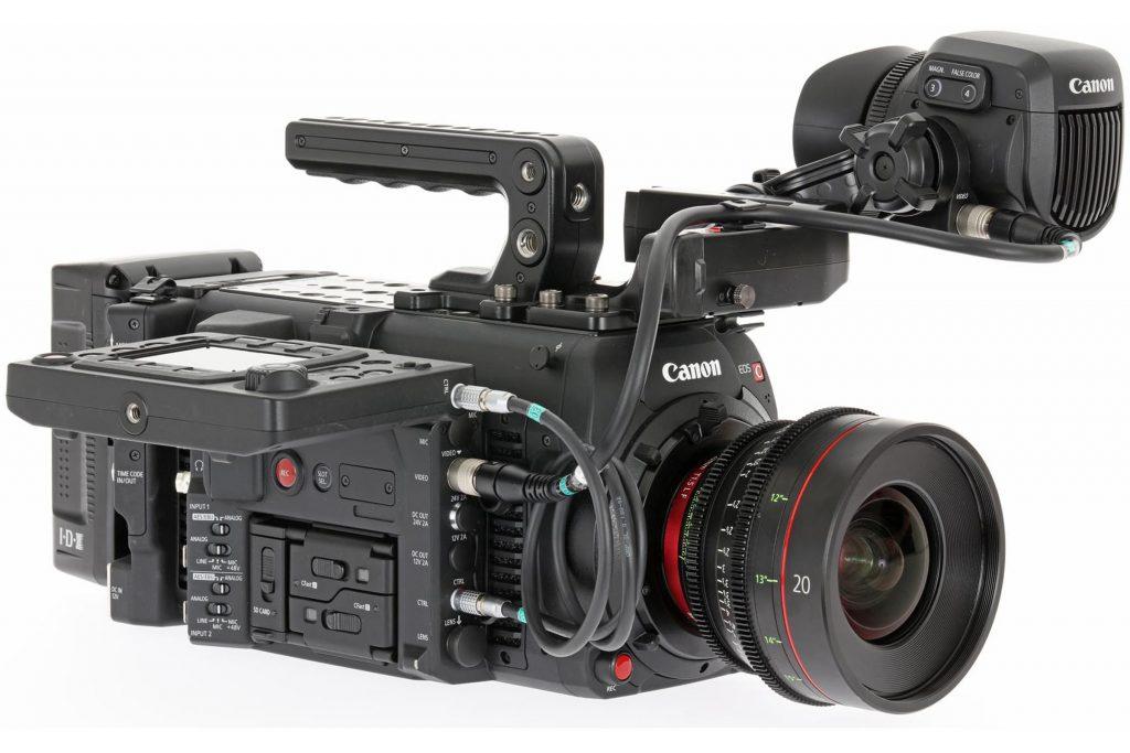 Canon lanza una nueva versión de su cámara de cine C700 equipada con ...