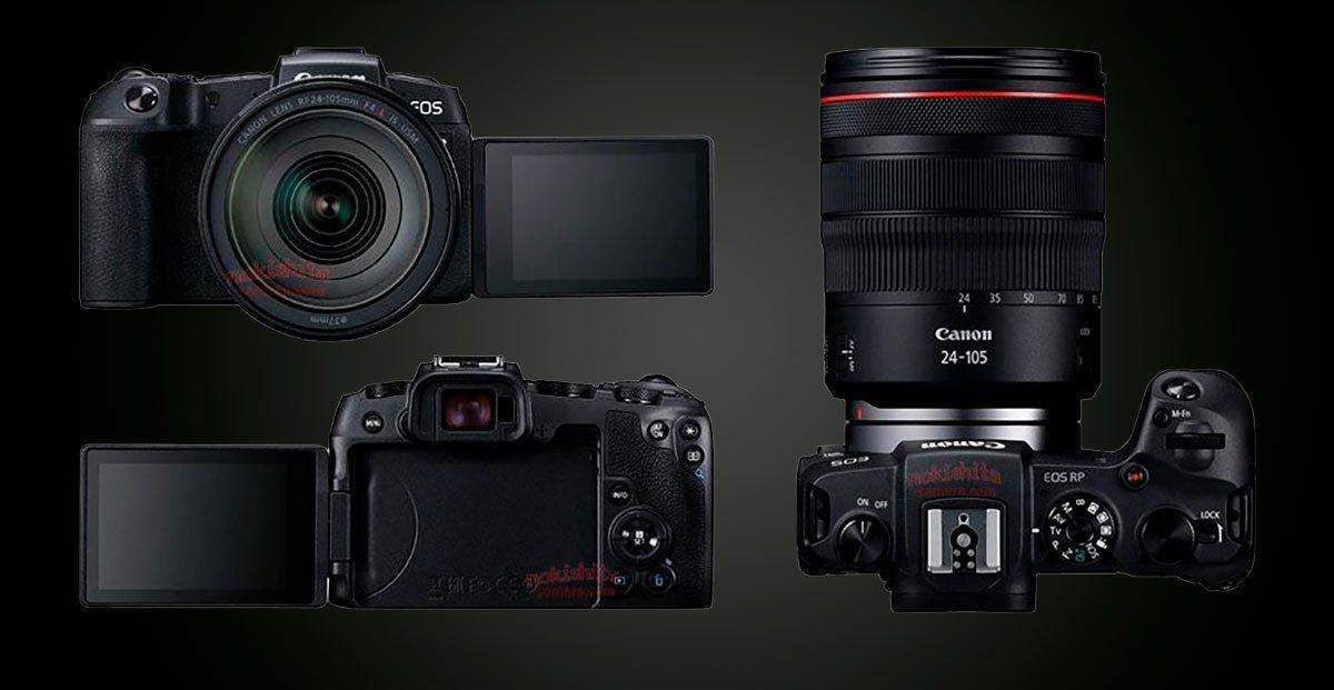 ca471528b0c00 Canon EOS RP  filtradas las imágenes y especificaciones de esta nueva sin  espejo de formato completo