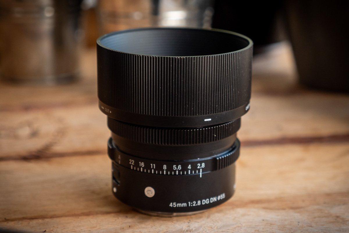 Sigma 45 mm f2,8 DG DN-1