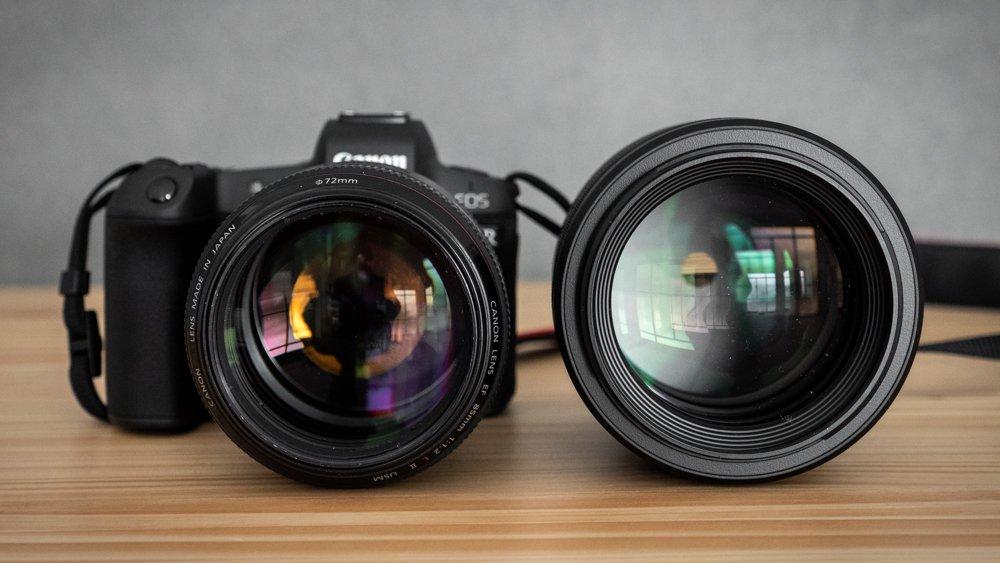 Canon 85 mm f1-2 rf-12