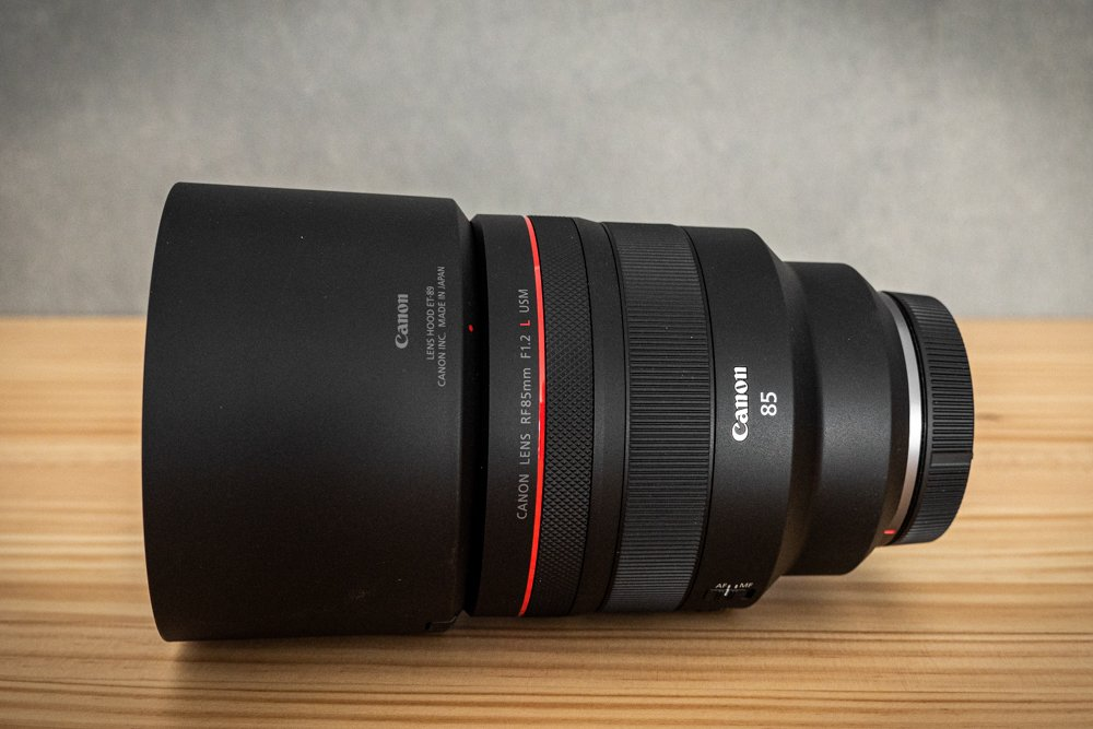 Canon 85 mm f1-2 rf-2