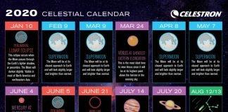 calendario celeste