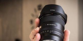 Sony FE 1,8 20 G-12