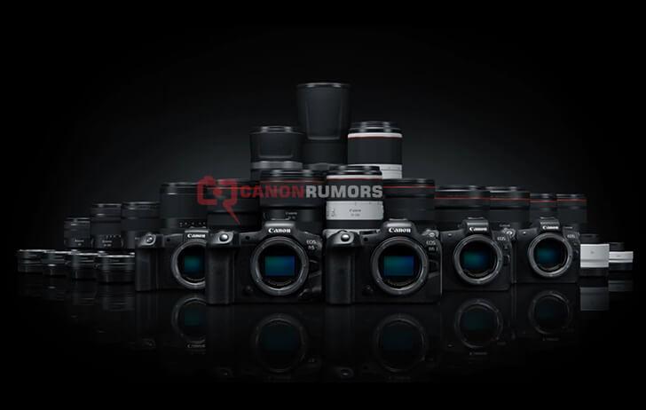 Canon EOS R filtradas