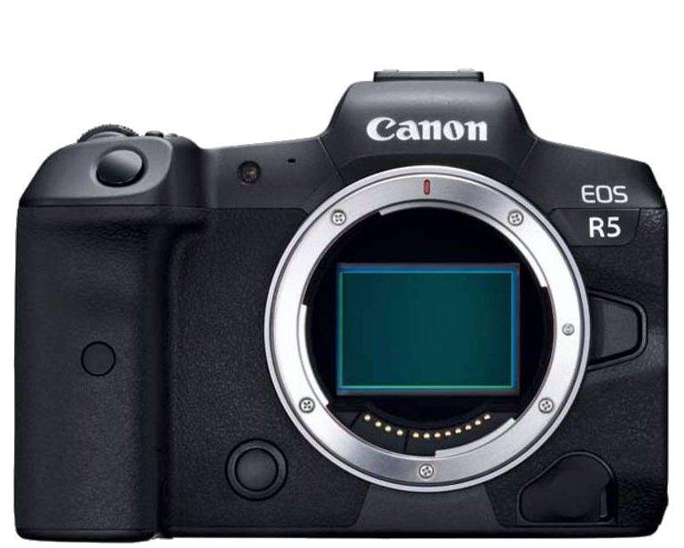 Canon EOS R5 - base de datos