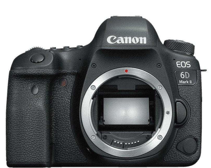 Canon 6D Mark II base de datos