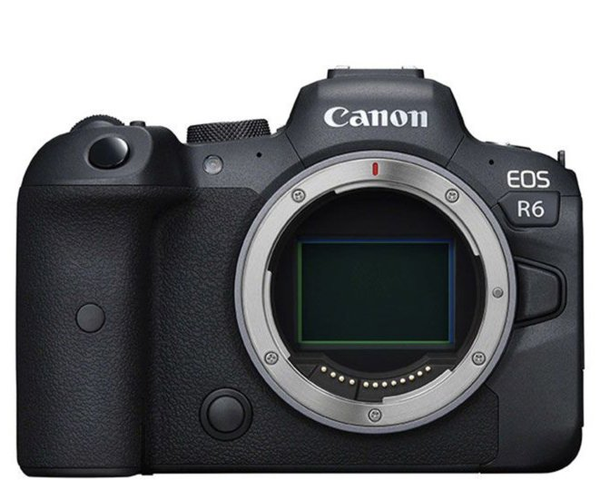 Canon EOS R6 base de datos