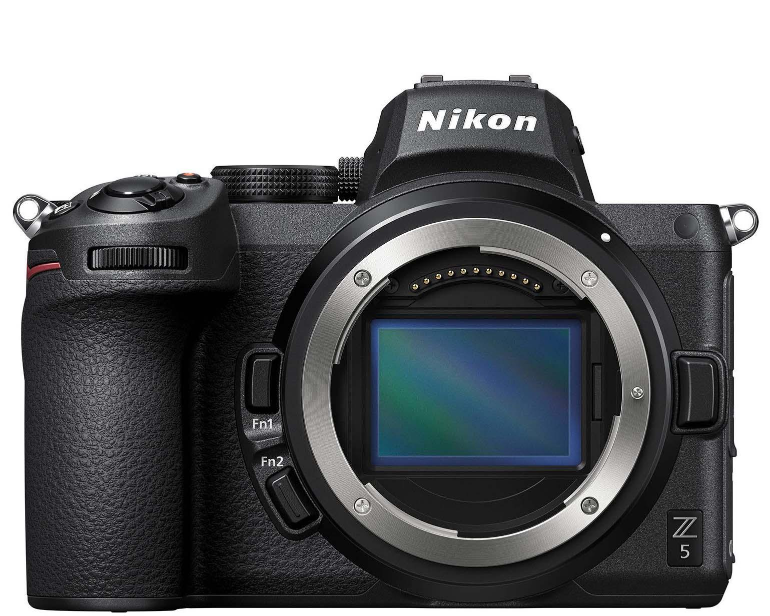 Nikon Z5 base de datos