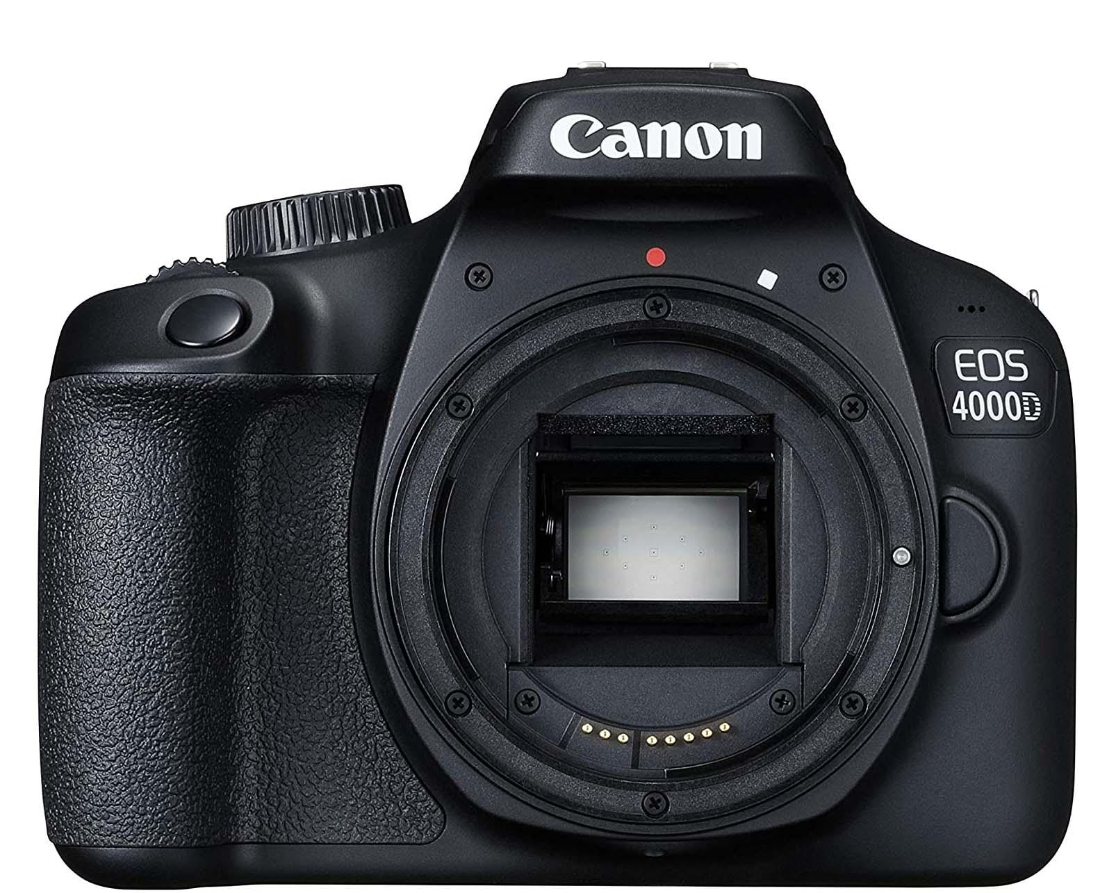 Canon 4000D base de datos