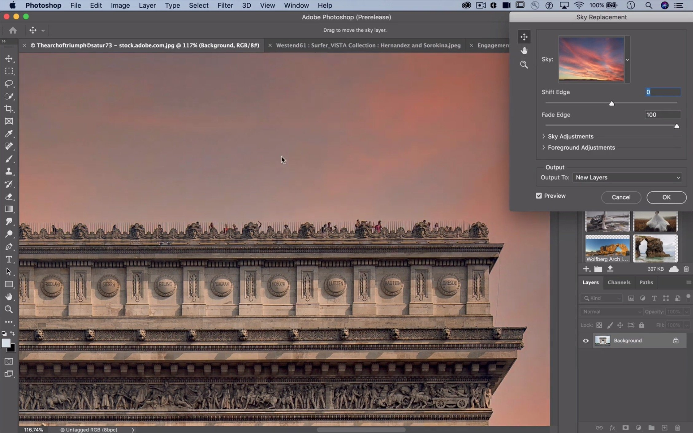 Photoshop_Sky_replacement