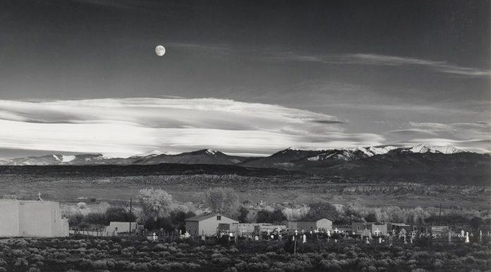 Moonrise,-Hernandez,-New-Mexico—Ansel-Adams-PORTADA