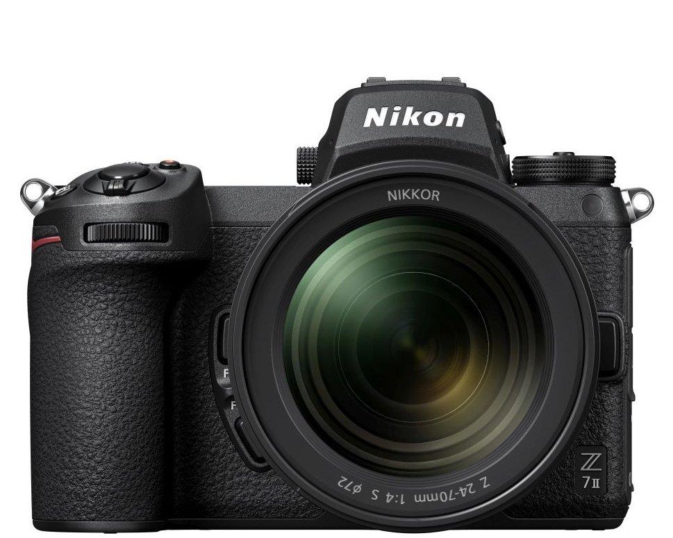 Nikon Z7 II base de datos