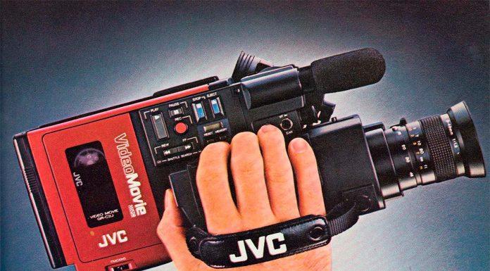 Video-camara-JVC-vintage