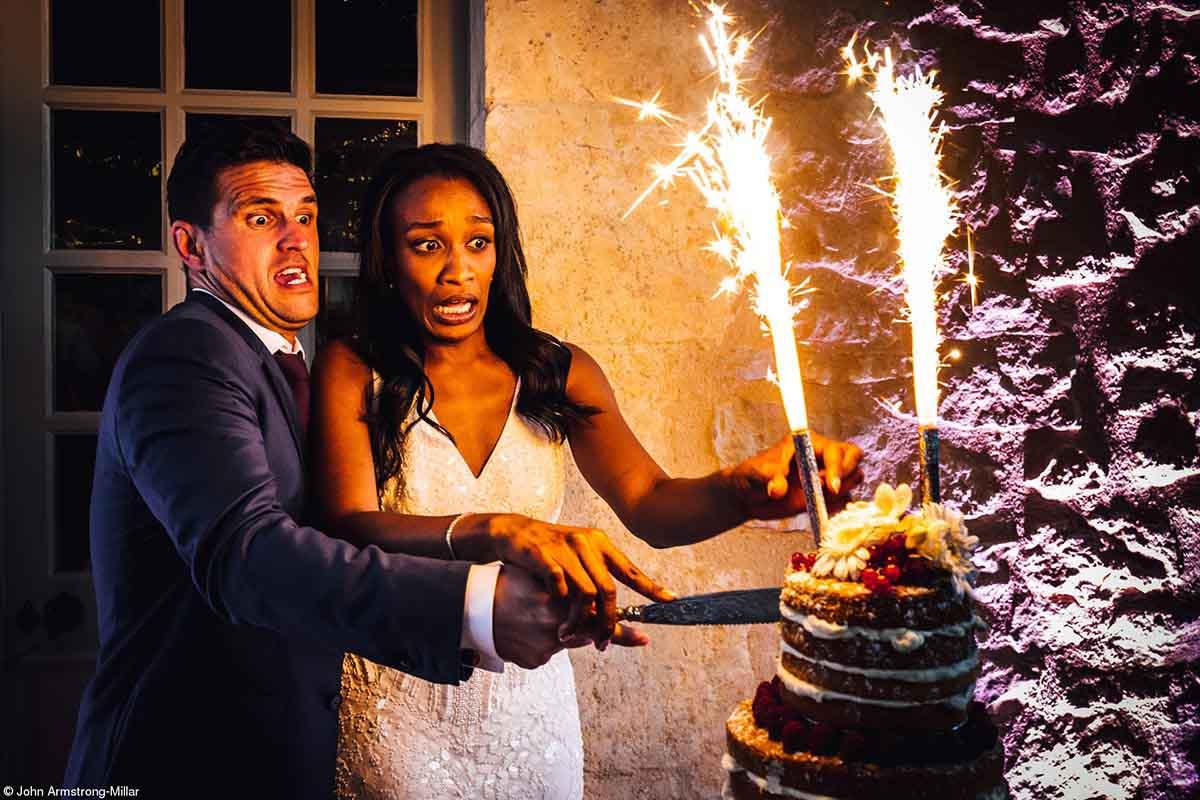 Champagne Taittinger Wedding Food Photographer© John Armstrong-Millar